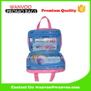 Pink Travel Necessarie Hanging Cosmetic Bag for Promotion pictures & photos