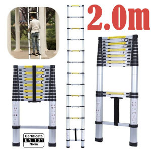 2 M Telescopic Ladder En 131/SGS Certificate pictures & photos