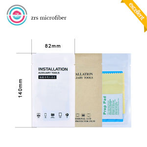 Screen Film Protector Installation Cleaning Kit Alcohol Pad Cleaning Cloth and Dust Sticker