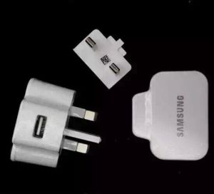 UK Wall Charger for Samsung S5 3pin Charger pictures & photos