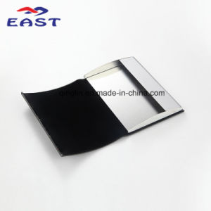 Custom Promotional PU Metal Business Card Case pictures & photos