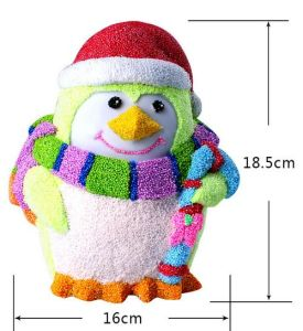 Colourful DIY Pearl Clay Toy Snowman (E044)