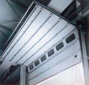 Stainless Steel Insulated Sectional Overhead Commercial Door (HF-K315) pictures & photos