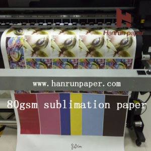 45/70/80/100GSM High Speed Sublimation Heat Transfe Paper Roll Size pictures & photos