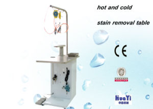 Hospital Industrial Laundry Equipment Stain Removal Table for Cloth / Spotting Table pictures & photos