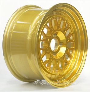 Gold Color 15X7 15X8 Ace Alloy Wheel (15jj) pictures & photos