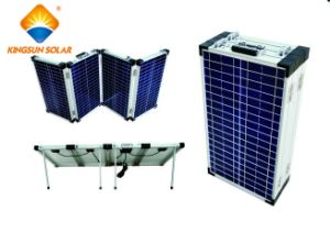 80W-200W Mono/Poly High Efficiency Portable 4-Folding Solar Modules pictures & photos