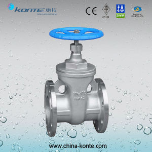 Z45h-10k JIS Non-Rising Stem Gate Valve pictures & photos