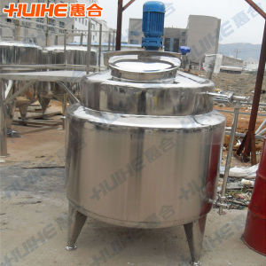 2000L Heated Mixing Tank for Sale pictures & photos