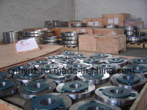 Hot Forged Duplex Stainless Steel Flange of Material A182 F53 pictures & photos