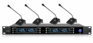 Wireless Conference System GS-648 Receiver with GS-600c Handheld Microphone pictures & photos