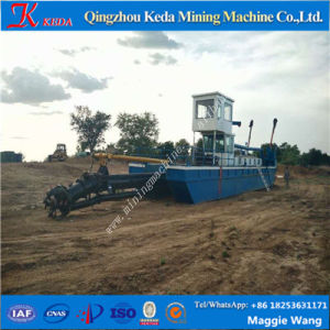 Diesel Power Type Cutter Suction Sand Dredger pictures & photos