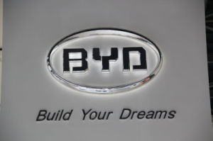 Auto Showroom Sign Acrylic Vacuum Forming Car Sign pictures & photos