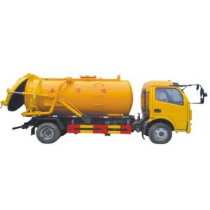 4X2 Dongfeng Vacuum Cleaner/ Sewage Suction Truck (4-10T) pictures & photos