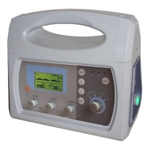 HV-100C Medical Portable Ventilator Price with Ce Cetificate pictures & photos