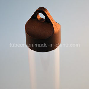 High Transparent Packaging Plastic Tube with Caps pictures & photos