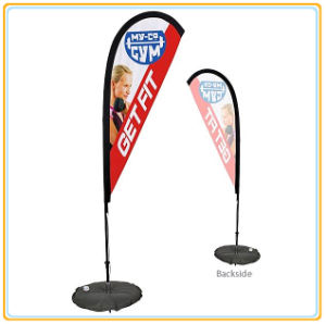 Flying Banner/Display Outdoor Advertising Beach Banner Flag Wholesales (3.5m) pictures & photos