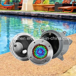 Underwater LED Swimming Pool Light RGB with Stainless Steel Niche