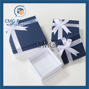 OEM High Quality Jewelry Packing Box with Bow Tie (CMG-PJB-055) pictures & photos