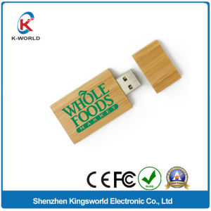 Popular Wood USB Stick with Logo Printing