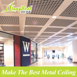 2017 Aluminum Open Cell Grid Ceiling Tiles for Station Supermarket pictures & photos