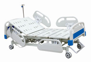Linak Motor Five Functions Electric Hospital Bed pictures & photos
