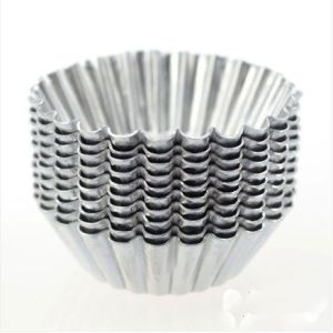 Amazon Vendor 20PCS Egg Tart Aluminum Cupcake Cake Mold pictures & photos