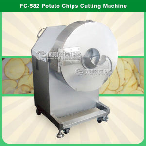 FC-582 Large Type Potato Chips Cutter, Potato Cutting Machine pictures & photos
