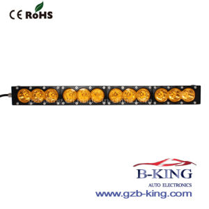 New Arrival 10W/LED CREE Amber LED Light Bar pictures & photos