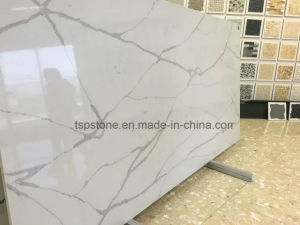 Calacatte Gold Quartz Slab for Kitchen Countertop pictures & photos