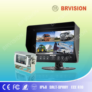 "7"" Quad Split Screen with Water-Proof Rear View System pictures & photos"