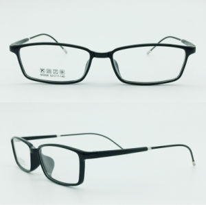 Factory Super Light Half Plastic Steel Fashion New Design Optical Frames Glasses Eyewear pictures & photos
