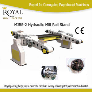 High Quality Electrical Roll Stand Machine (MJRS-2) pictures & photos