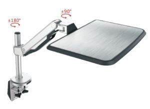 Desktop Mount Sit Stand Working Station Laptop Holder (DLB771) pictures & photos