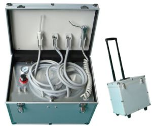 Portable Dental Unit with Built in Air Compressor (OM-PD004) pictures & photos