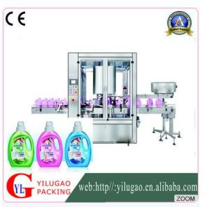Ylg-1002 Cyautomatic Liquid Soap Shampoo. Detergent Capping Machine pictures & photos