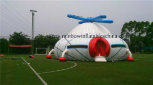 2016 New Design Inflatable Helicopter Advertise Dome Tent for Sale pictures & photos