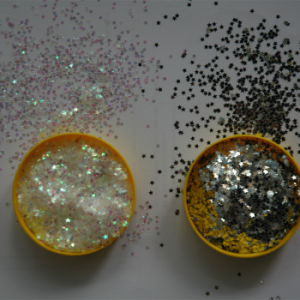 Laser Bright Star Glitter Powder pictures & photos