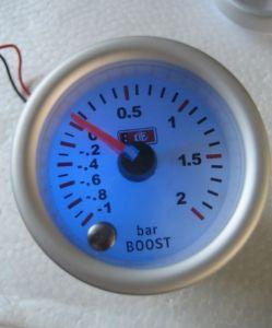 2inch 52mm 7colors LED Light Gauge Turbo Gauge (7C7707)