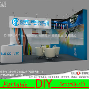Custom Design Personality Excellent Design Portable Reusable Trade Show Booth pictures & photos
