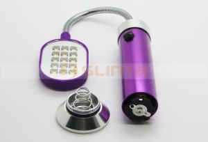 Head Bent Magnet LED Lamp Foldable Metal Emergency Desk Lamp pictures & photos