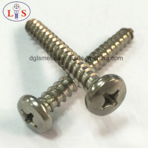 Stainless Steel Screw/Pan Head Cross Recess Screw/Self-Tapping Screw pictures & photos