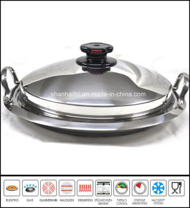 Griddle Pan Stainless Steel Grill Pan pictures & photos
