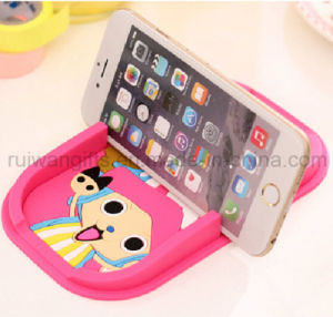 Wholesale Cartoon Soft PVC Phone Holder for Rubber Mobile Stand pictures & photos