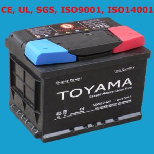 Maintenance Free Car Battery 12V 120ah Wet Battery pictures & photos