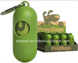 Biodegradable Dog Poop Bag with Dispenser pictures & photos