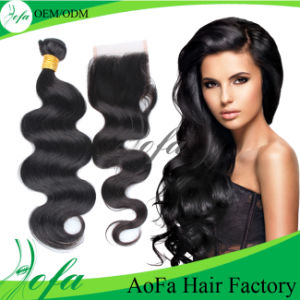 High Quality Human Brazilian Virgin Hair Extension pictures & photos