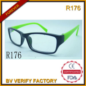 Trade Assurance Wholesale Clear Plastic Frame Reading Glasses (R176) pictures & photos