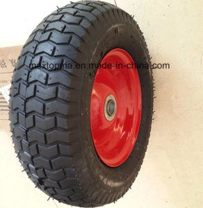 Maxtop Quality Rubber Wheelbarrow Wheel pictures & photos