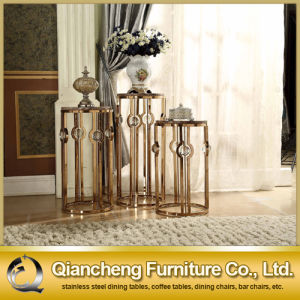 Rose Gold Family Use Stainless Steel Flower Shelf pictures & photos